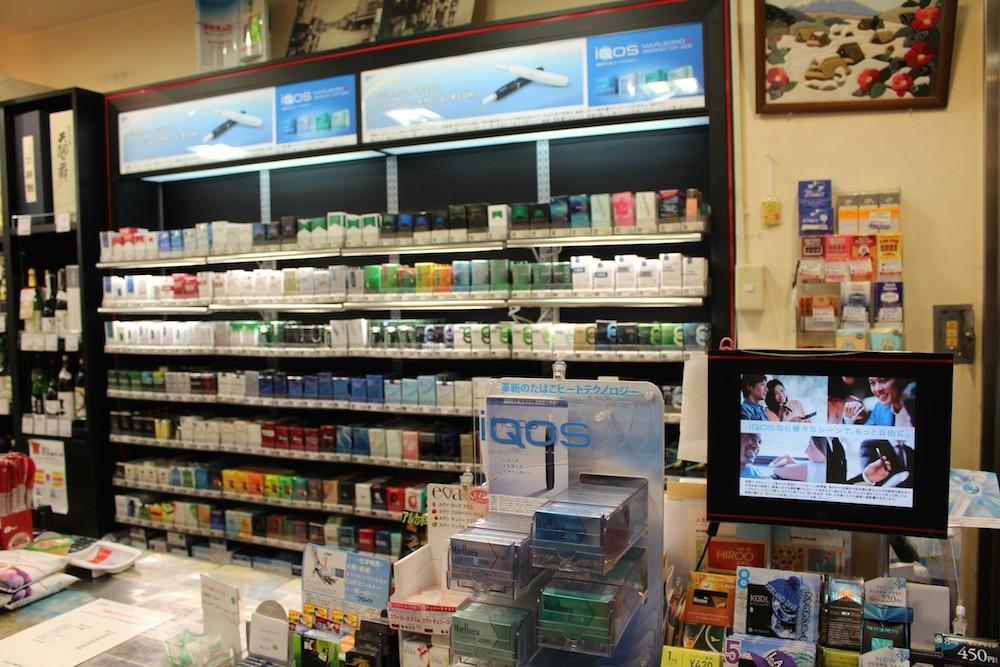 国内、外国タバコの品揃えが充実しております。